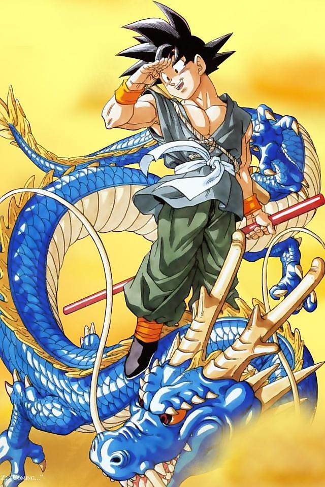 ドラゴンボール青龍と悟空の壁紙